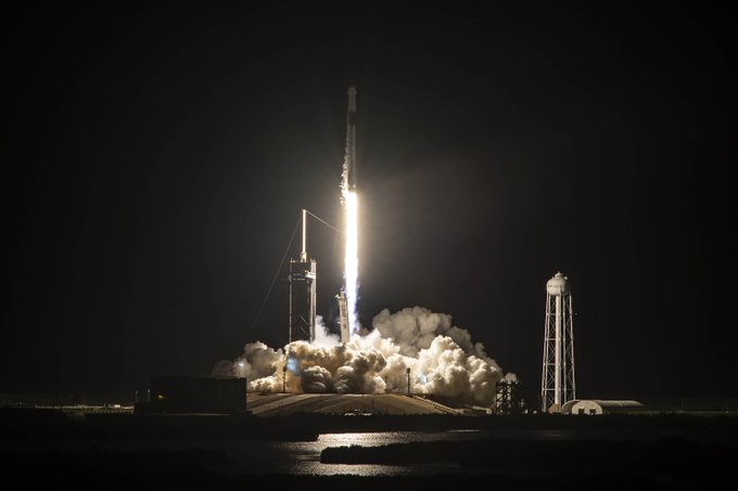 Inspiration4 décollage Falcon 9 © SpaceX