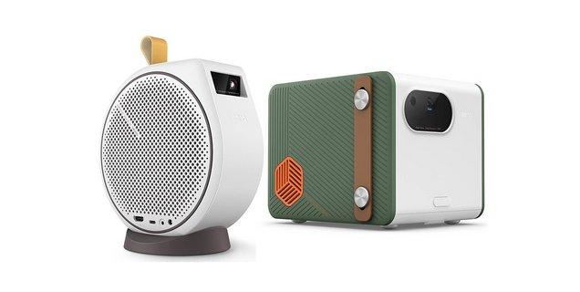 BenQ dévoile deux vidéoprojecteurs portables Android TV au look rétro