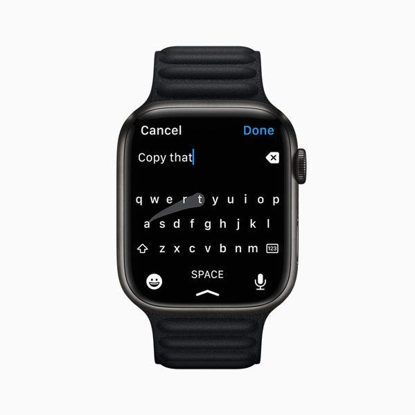 apple watch clavier