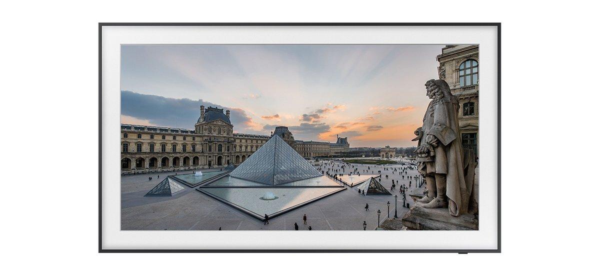 Partenariat Louvre et Samsung © Samsung
