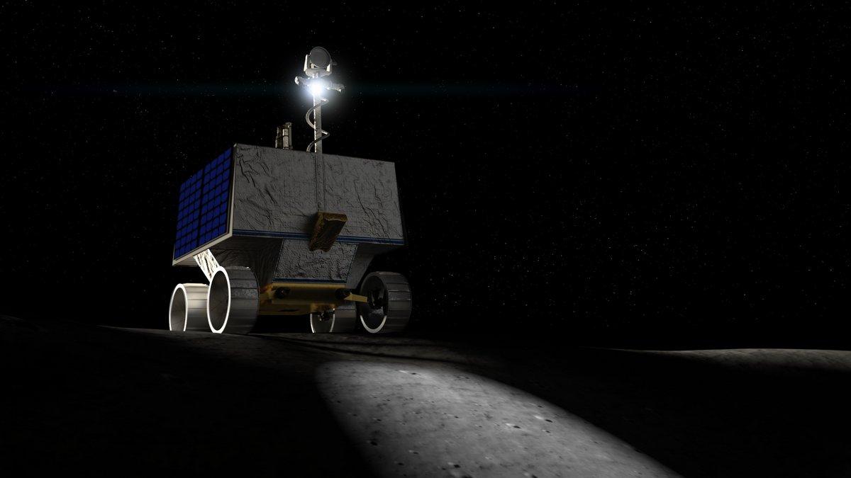 Rover VIPER © © NASA
