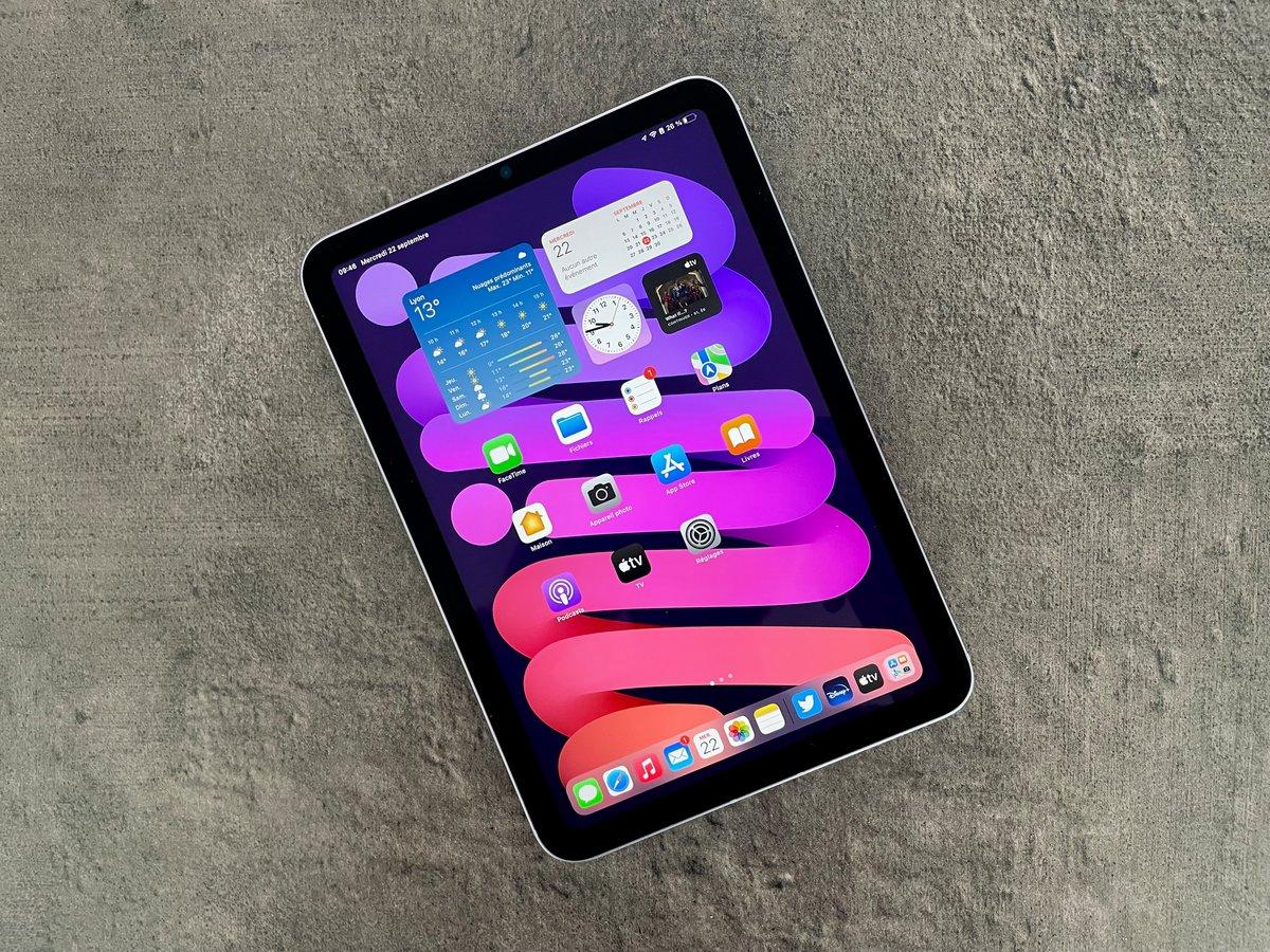 iPad mini 2021 test © Mathieu Grumiaux pour Clubic