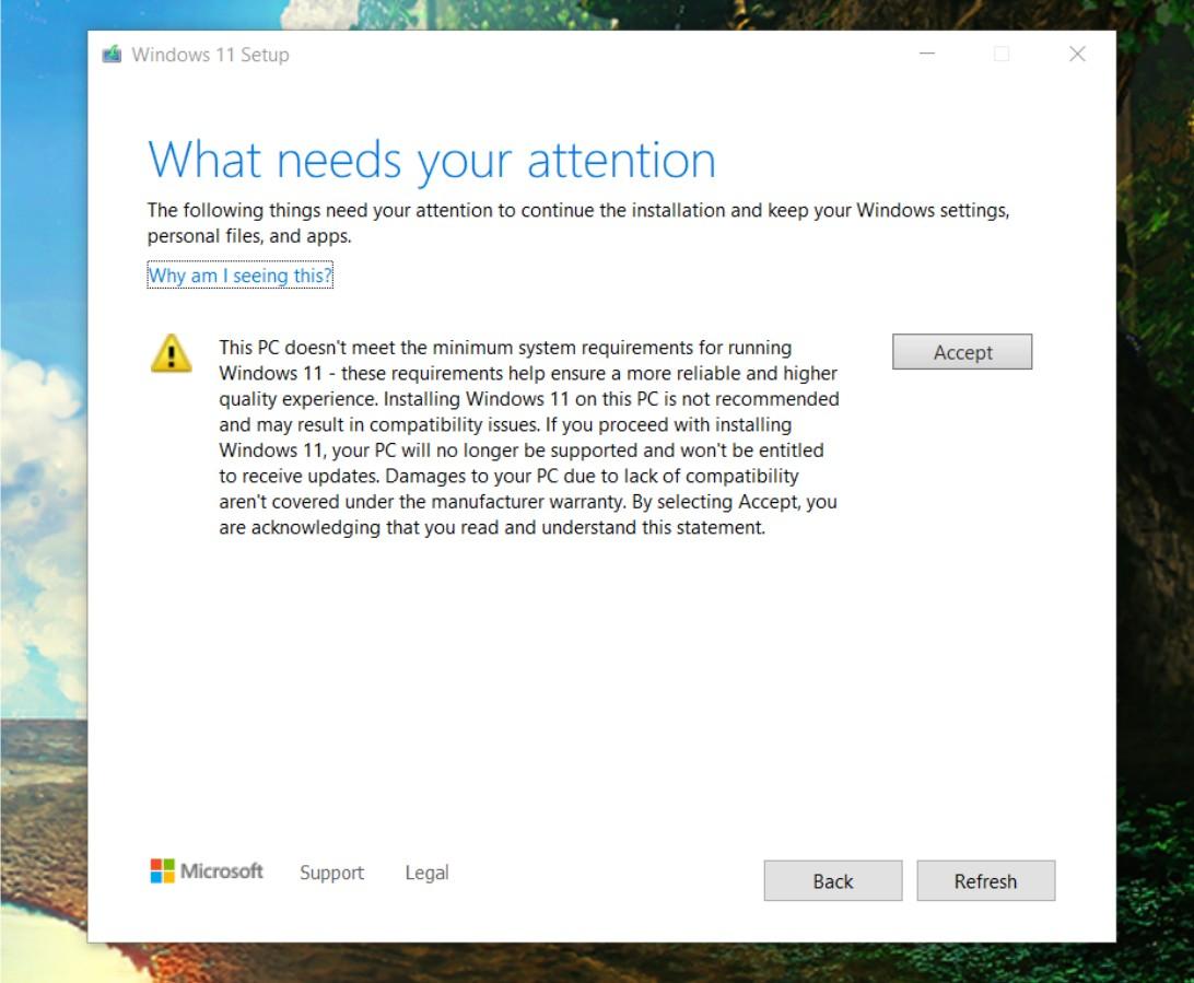 Windows 11 mise à jour © The Verge