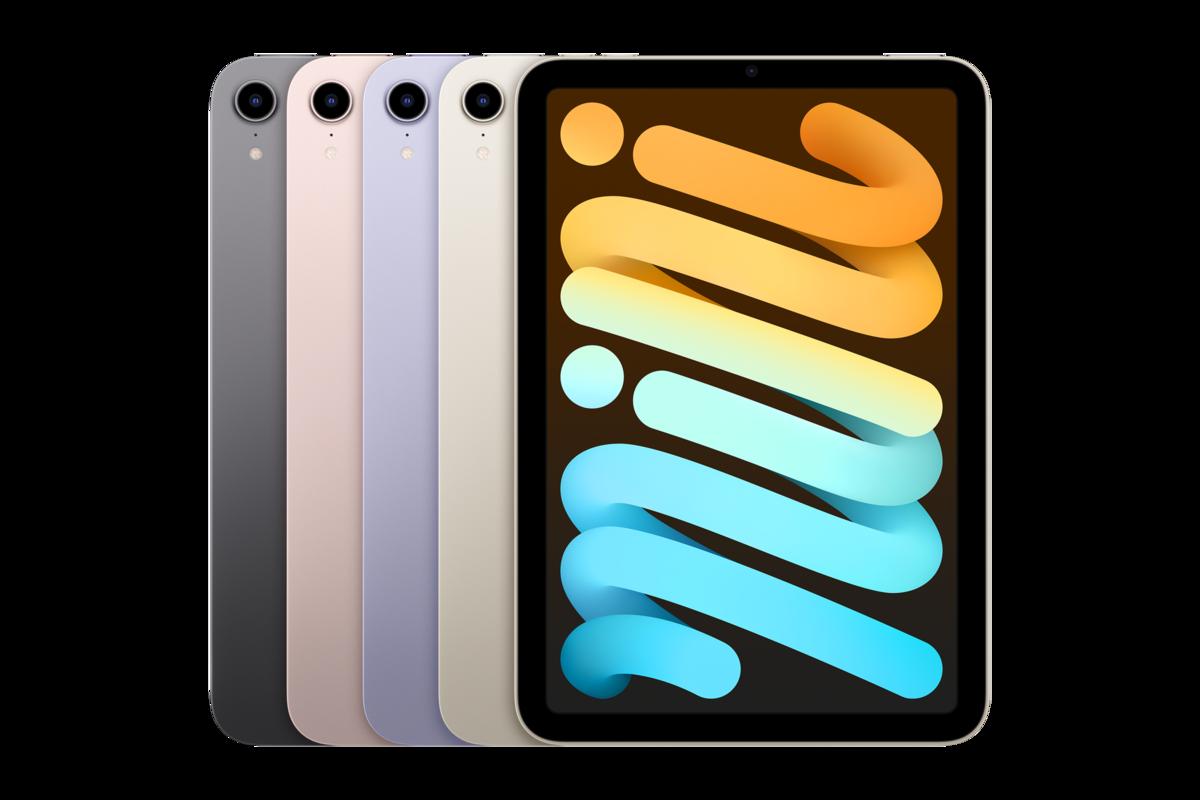 iPad mini 2021 Lineup
