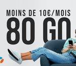 Avec son forfait 80 Go à 9,99€/mois, B&You tient tête à Free mobile