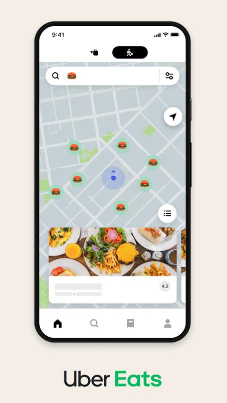 Uber Eats recherche emoji © Uber Eats