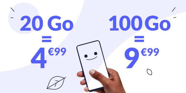 Forfait mobile : une nouvelle offre choc à 4,99€ pour 20Go sur le réseau SFR