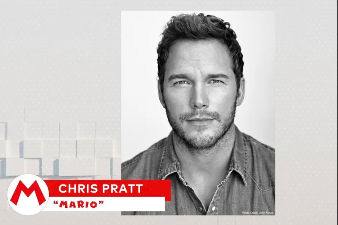 Chris Pratt Mario © Nintendo