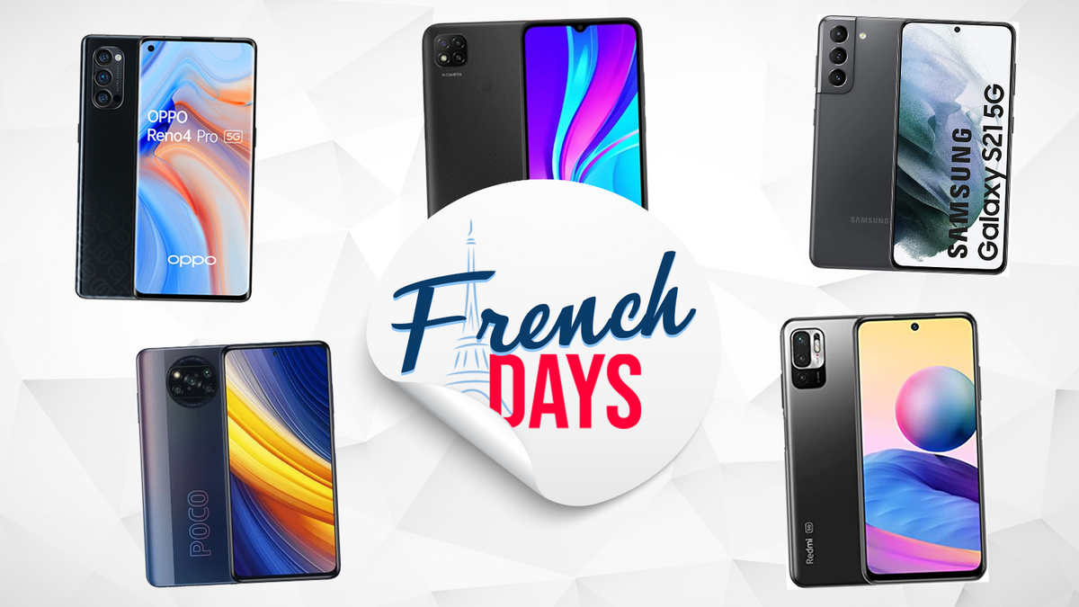 Selec smartphone French Days