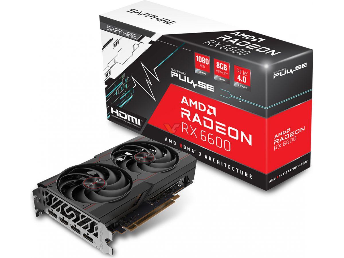 Sapphire Radeon RX 6600 Pulse © Videocardz
