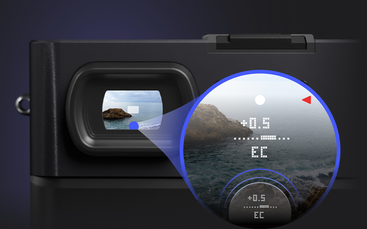 Nouvel appareil photo Pixii - viseur © Pixii