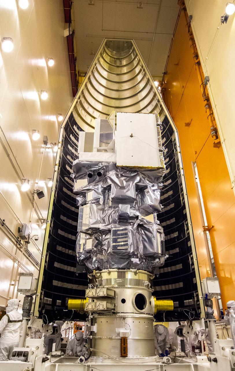 Landsat-9 mise sous coiffe © NASA