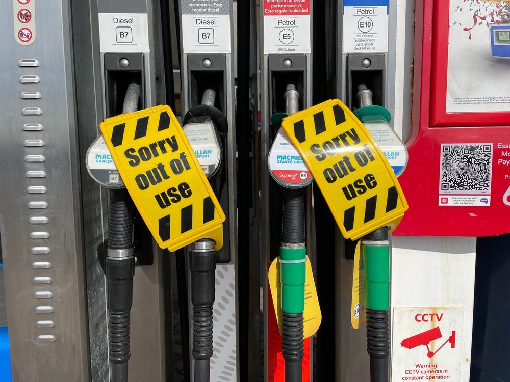 pénurie essence angleterre