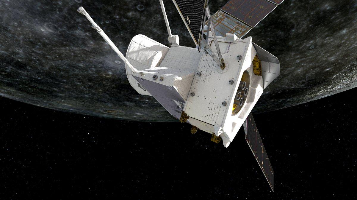 Bepicolombo sonde survol Mercure © ESA