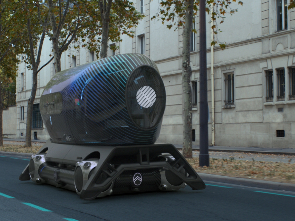 Citroën Autonomous Mobility Vision © Citroen