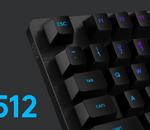 Le clavier gamer Logitech G512 chute à son meilleur prix aujourd'hui