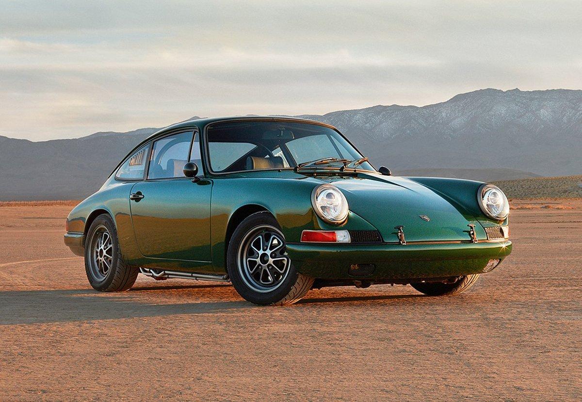 Porsche 912 électrique © © Zelectric