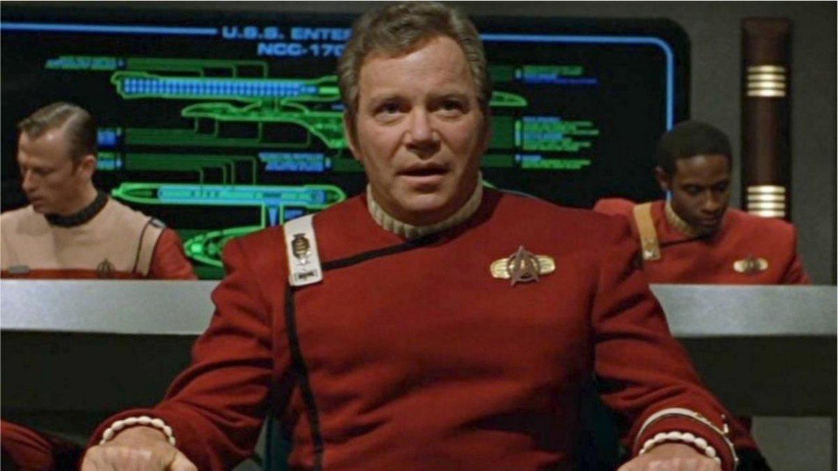 William Shatner Kirk © Paramount