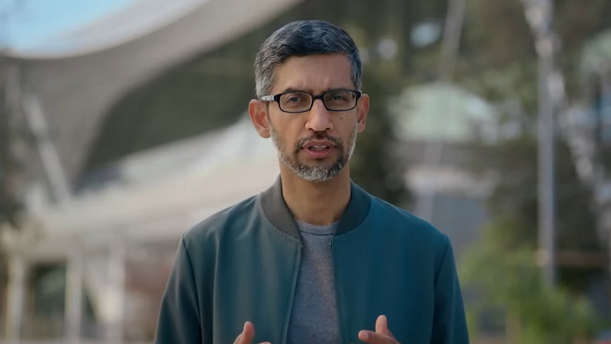 Sundar Pichai Google 5 octobre 2021 © Google