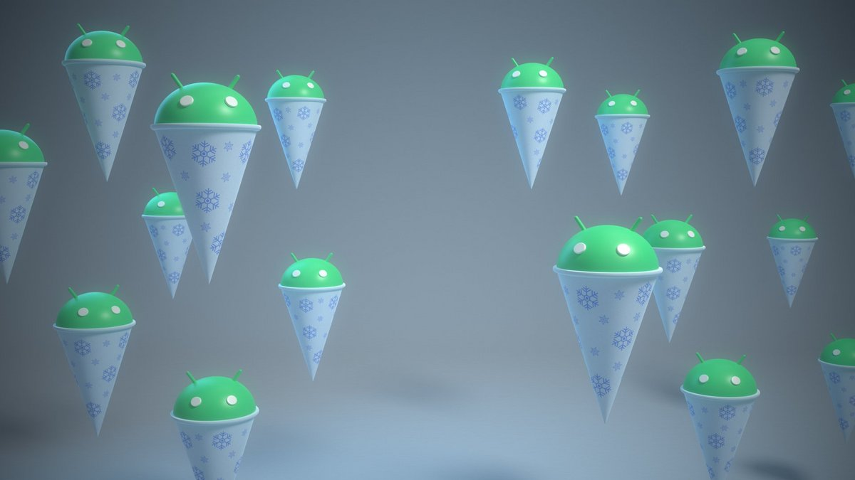 Android Snow Cone © Dave Burke