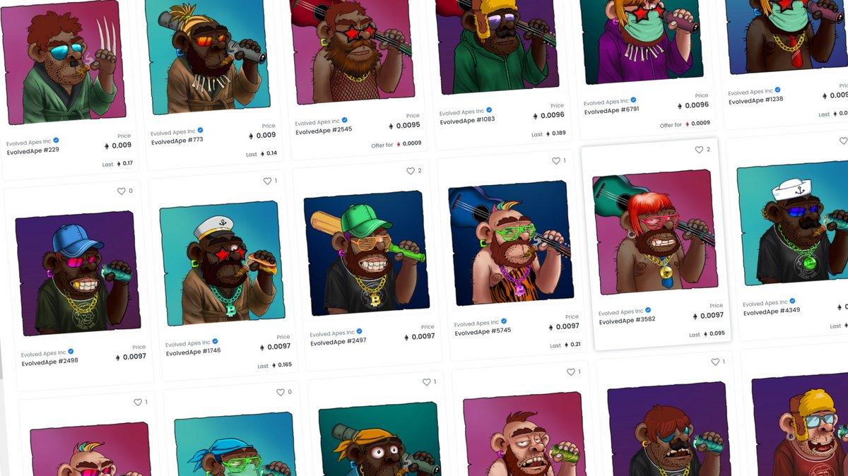 Evolved Apes NFT © Evolved Apes