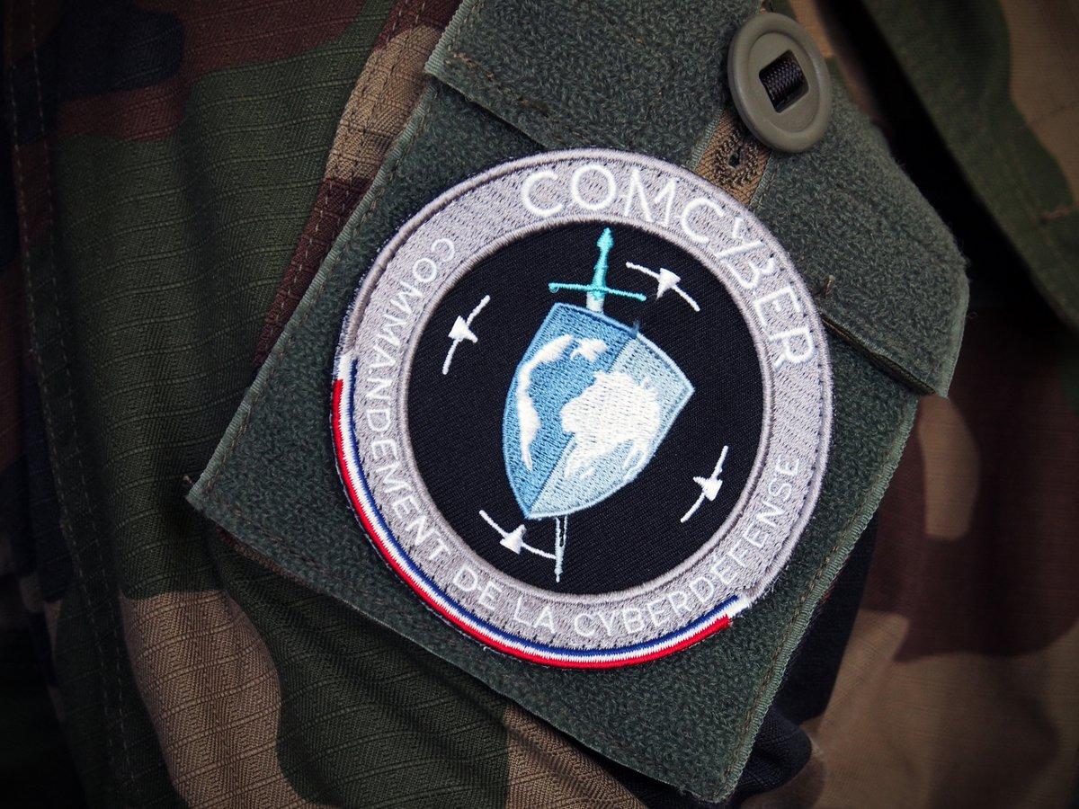 COMCYBER commandement cyberdéfense © ministère des armées