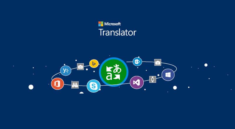 Microsoft Translator © Microsoft