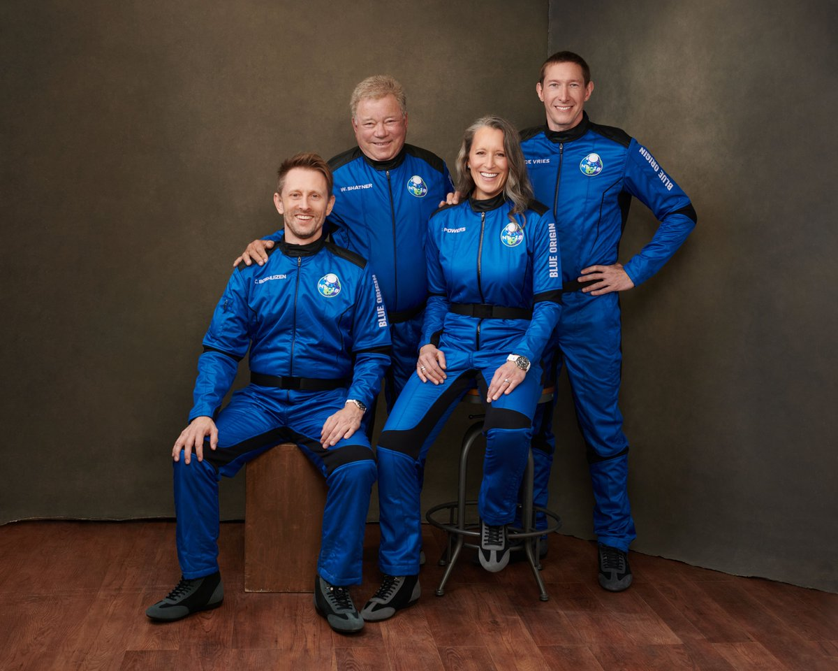 New Shepard NS18 shatner star trek Blue Origin © Blue Origin