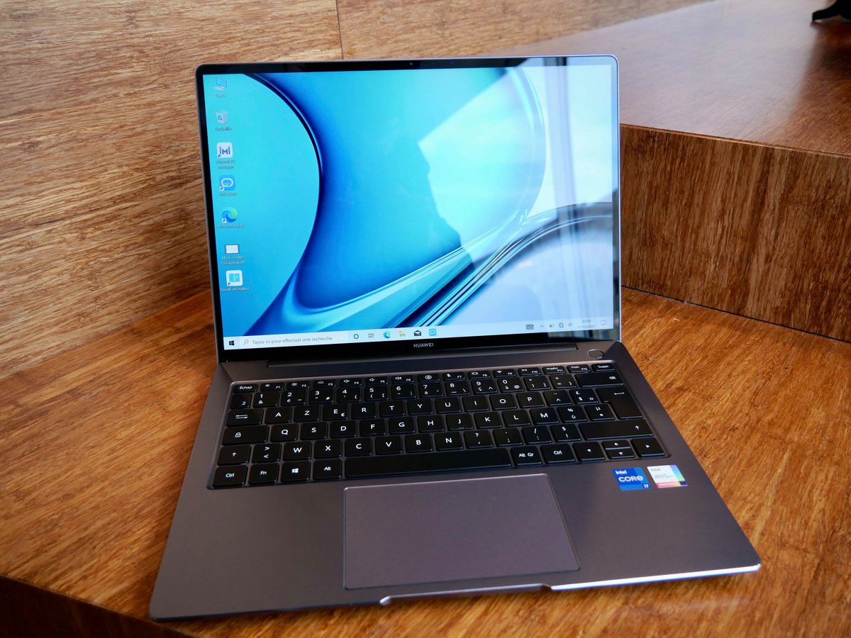 Huawei MateBook 14S-1 © © Nathan Le Gohlisse pour Clubic