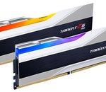G.Skill annonce la Trident Z5, des barrettes au mieux de DDR5-6400