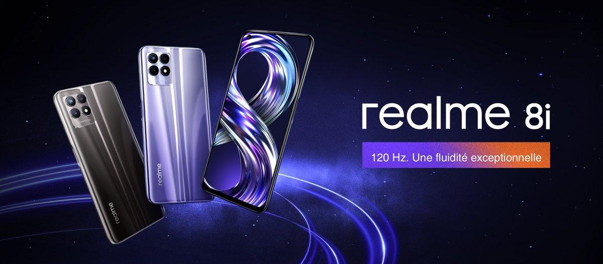 realme 8i © © Realme