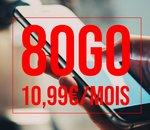 L'offre Free 80Go à seulement 10,99€ prend fin ce soir à minuit 🔥