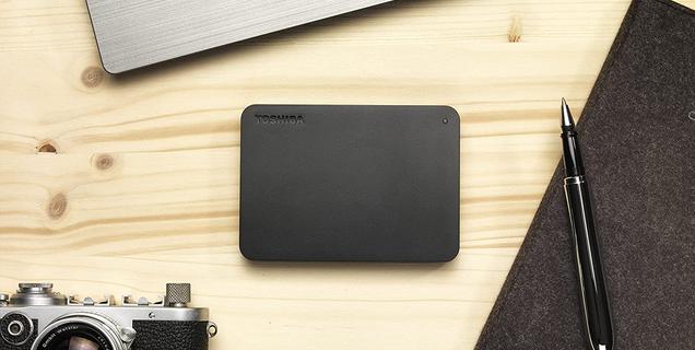 4 To pour 83€, c'est l'offre choc Amazon sur le disque dur externe Toshiba Canvio Basics