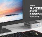 Minisforum dévoile un nouveau mini-PC sous Ryzen 9 4900H à prix plancher