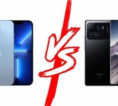 iPhone 13 Pro vs Xiaomi Mi 11 Ultra : quel est le meilleur photophone haut de gamme ?