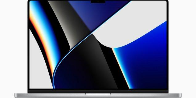 macOS n'aime pas trop l'encoche du nouveau MacBook Pro