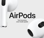Apple AirPods 3 : les nouveaux écouteurs Apple sont disponibles en précommande chez Fnac