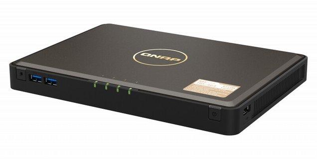 QNAP annonce son NASbook : un NAS compact embarquant jusqu'à 4 SSD M.2 NVMe
