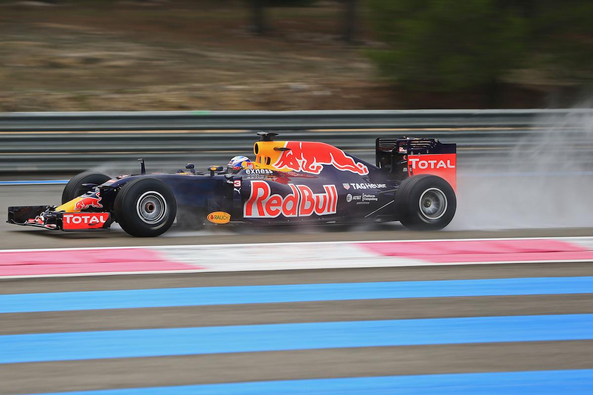 Photo : les Formule 1 de retour au Paul Ricard