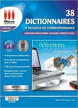 38 dictionnaires et recueils de correspondance clubic