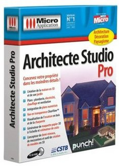 Logiciel architecte studio pro pas cher prix clubic for 3d architecte micro application
