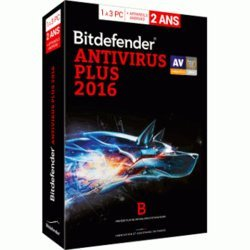 Bitdefender Antivirus Plus 2016 (2 ans 3 postes)Windows Logiciels antivirus et sécurité BitDefender