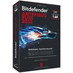 Bitdefender Antivirus 2015 Plus (1 an 1 poste)Windows Logiciels antivirus et sécurité BitDefender