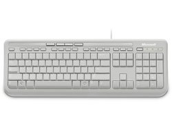Wired Keyboard 600 - BlancUSB Filaire Sans souris