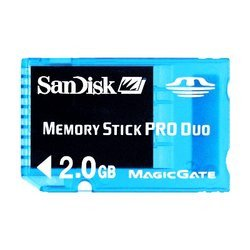 Memory Stick Duo Pro Gaming 2GoMemory Stick Duo Pro 2 Go