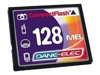 Compact flash 128 Mo (DA-CF-0128-R)128 Mo Compact Flash
