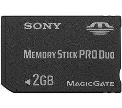 Memory Stick Duo Pro 2GoMemory Stick Duo Pro 2 Go