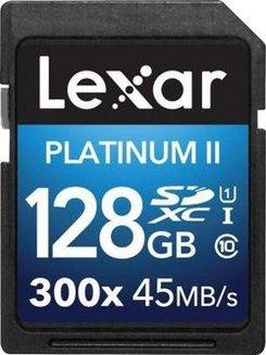 Platinum II UI1 SDXC 128Go Class 10Classe 10 SDXC 128 Go