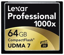Professional 1000x Compact Flash 64Go  Compact Flash 64 Go