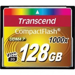 Compact Flash 128Go 1000xCompact Flash 128 Go